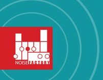 Noise Factory Logo and Branding Elements