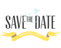 Couples Retreat Postcard - Save the Date