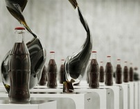 Coca Cola Dancing Bottles