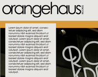 OrangeHaus Records Website Design