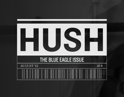school project: Hush Magazine
