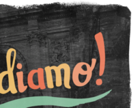 Andiamo! Hand Drawn Typography