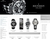 Benson Trade eCommerce Website