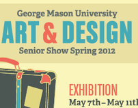 GMU Art & Design Senior Show Spring 2012