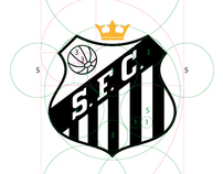 Shield Santos F.C. in divine proportion