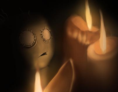 Awakening of the Puppet Boy - Story Illustration