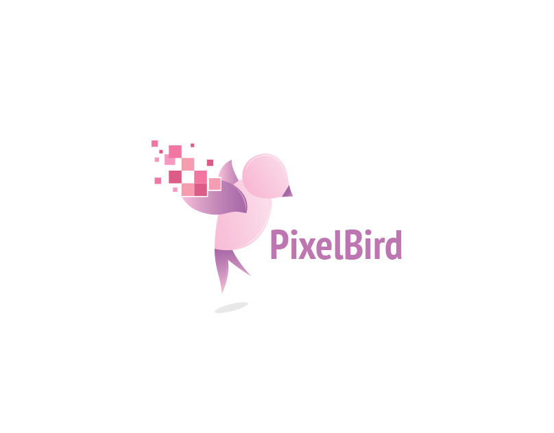 PixelBird - Logo Template for Design Studios
