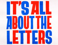 Its All About The Letters
