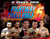 Fightway Challenge 5 Pancrace Fighting Event