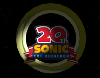 20th anniversary of Sonic the Hedgehog