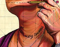 The fartsy anamtomy- Illustrator Self-promo