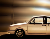 My Volkswagen Golf 1 Cabrio