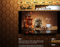 Kenshi Coffee Shop Website