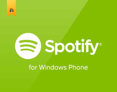 Spotify for Windows Phone (concept 2)