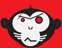 Irresponsible Red Monkeys Logo