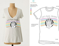T Shirt Designs for La Isla Swimwear