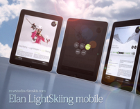 Elan LightSkiing mobile site