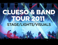 CLUESO LIVE 2011 visuals