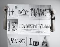 Self Promotion-folding poster