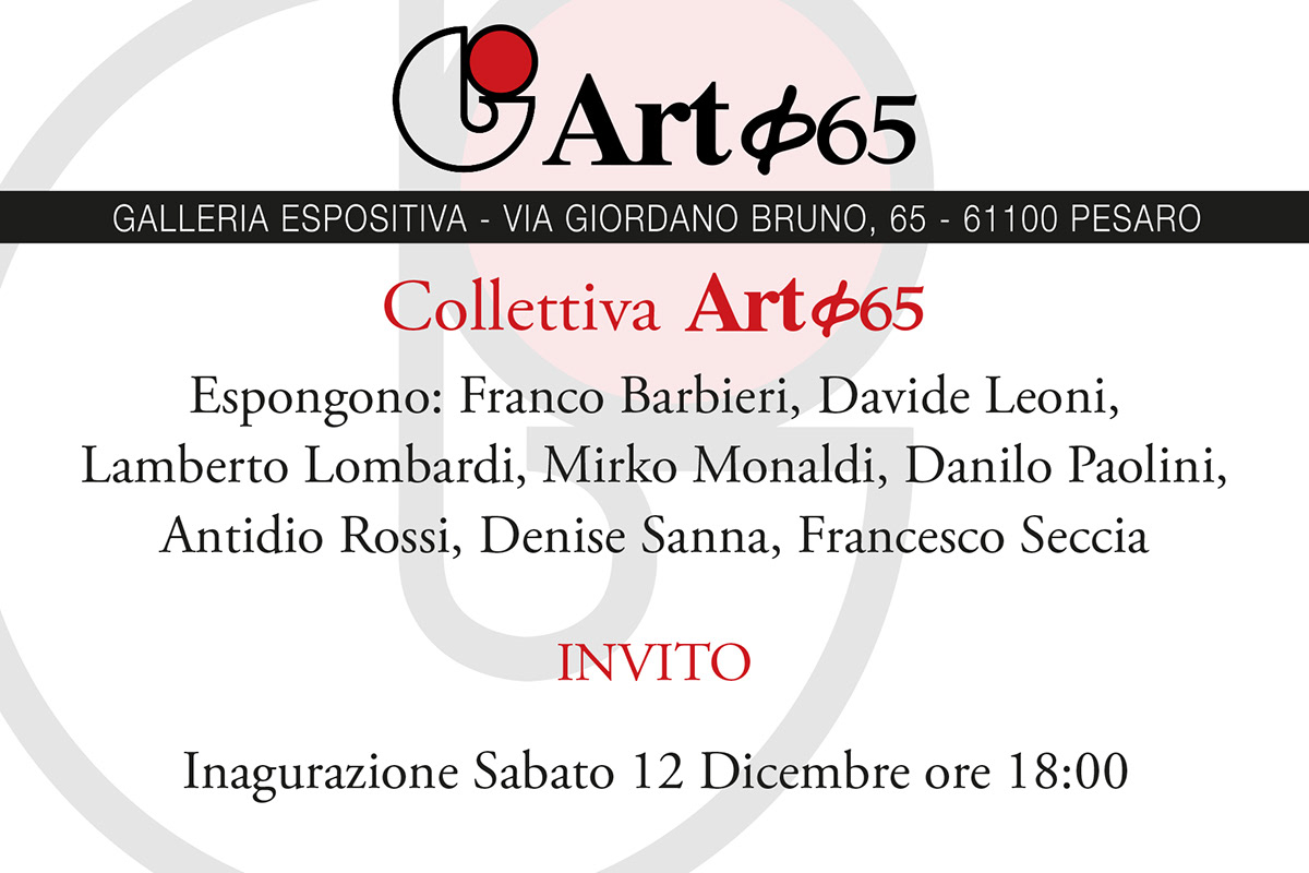 Flyer Collettiva Art&65