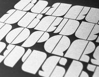 DM Black Typeface