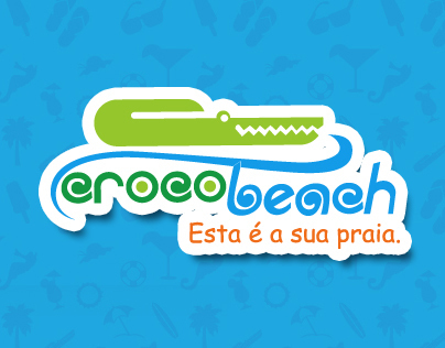 Crocobeach - website