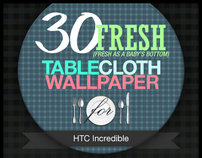 30 Fresh TableCloth Wallpaper for HTC Incredible