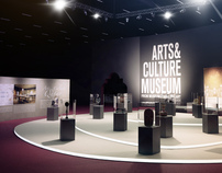 3D visualization for Qatar Culture Exhibition