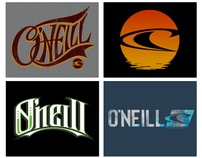ONeill Typography and Logo Designs
