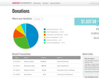 Causecast for Nonprofits Account Switching