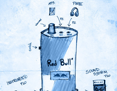 Planning, Creation & Illustration // Red Bull Crossroad