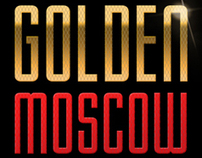 Golden Moscow Vodka Concept