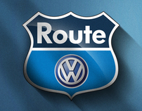 Volkswagen Route 2009 Illustration