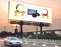 Billboard - Double Stuff Oreo
