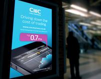 Outdoor Digital Campaign | CMC Markets