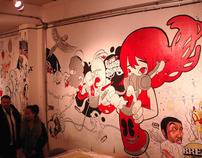 WALL OF ART @ Minimal Gallery , Chiangmai Thailand 2012