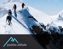 Name, Branding, Social Campaigns for Positive Altitude