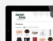 Danish Living Room Website