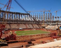 Photo: National Stadium of Brasília Mané Garrincha