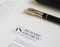 Richard Solomon Artists Rep. Corporate Identity