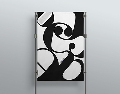 Bodoni // Exploring Type Posters