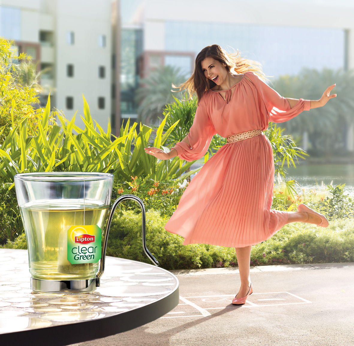 Lipton Green Tea sampling Brochure