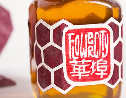 Flower City Honey packaging
