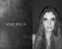 What she is