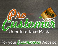 Pro Customer User Interface Pack