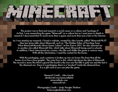 Minecraft Packaging