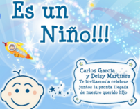 INVITACIONES BABY SHOWER, BAUTIZO Y COMUNION