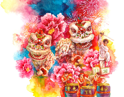 2013 Chinese New Year Illustration