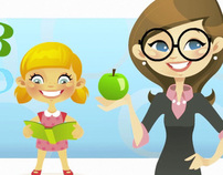 Child Educare Animated Web Promo Video