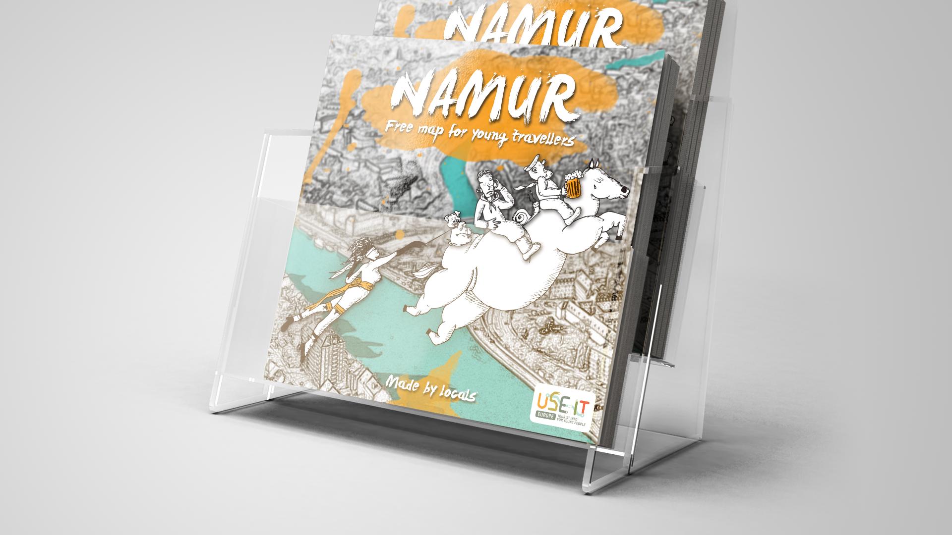 Use-it • Namur map
